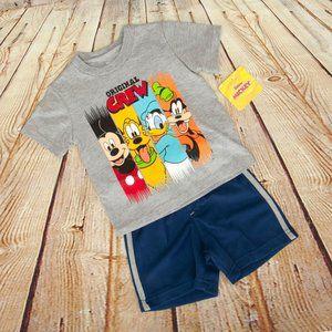 Disney Junior Clubhouse Boys Short & Shirt Set